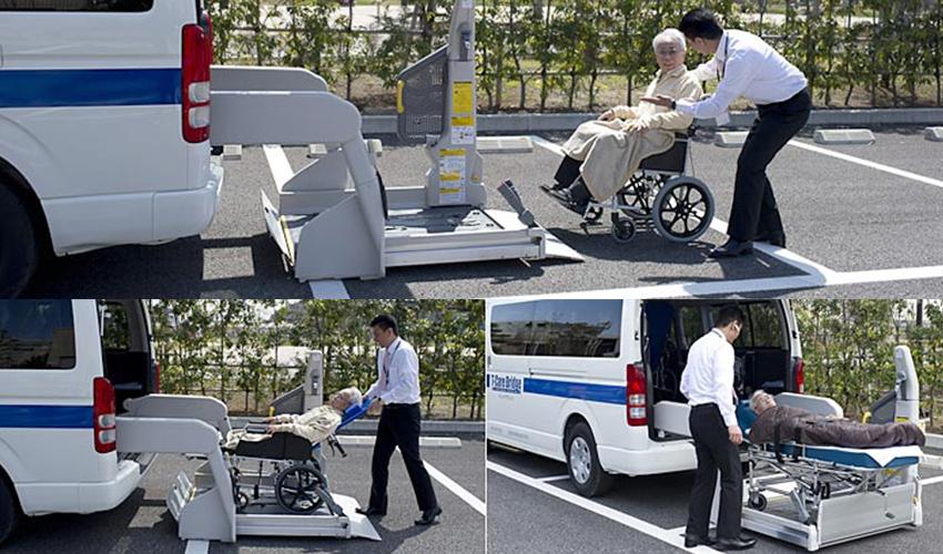 江戸川区の介護タクシー ティーケアーブリッジ