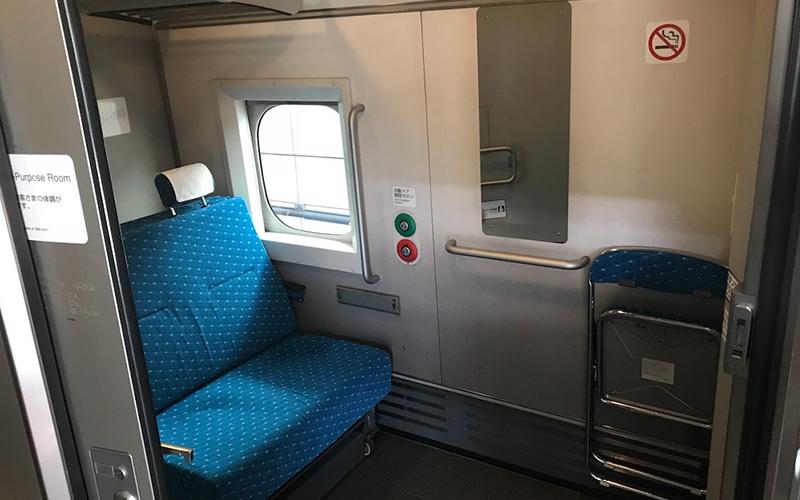 新幹線 車椅子、ケガや病人、多目的室、搬送