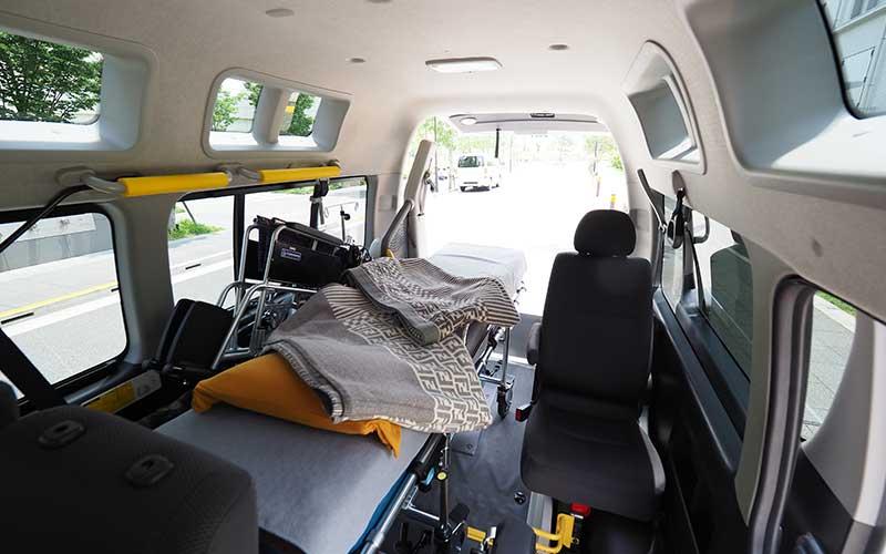東京の病院から京都の病院まで民間救急車で転院